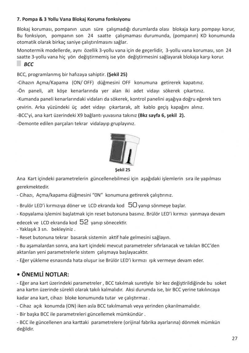 Eca Confeo Plus Kullanım Klavuzu