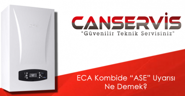 ECA Kombide ASE Uyarısı