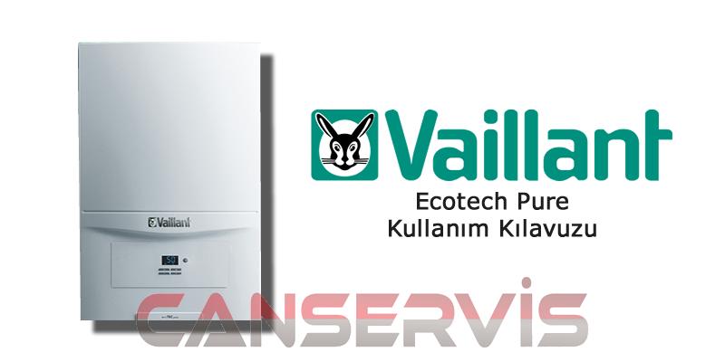 Vaillant Ecotech Pure Kullanım Kılavuzu