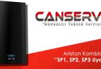 Ariston Kombide Sp1, Sp2, Sp3 Uyarıları
