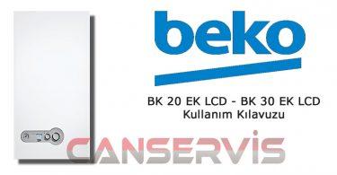Beko BK 20 - 30 EK LCD Kullanım Kılavuzu
